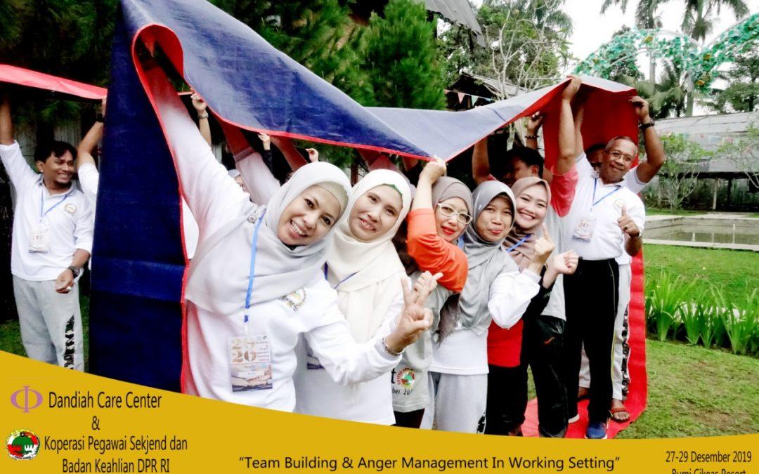 Team Building & Anger Management Untuk Tim Koperasi